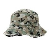 Camouflage/black Reversible Hat - C27