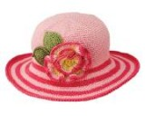 Kids Flower Brim Hat