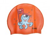 Childrens Silicone Printed Octopus Cap - 3047
