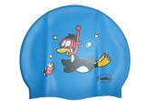 Childrens Silicone Printed Penguin Cap - 3047